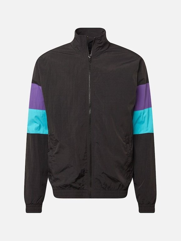 Urban Classics Jacke '3-Tone Crinkle Track Jacket' für 12,67€ inkl. Versand (statt 50€)