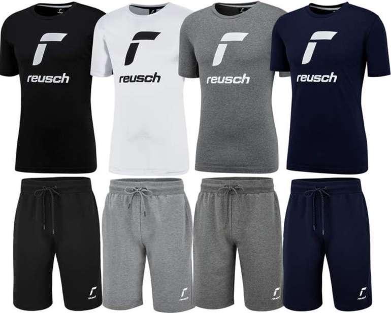 2-tlg. Reusch Freizeit Outfit Essentials Logo (bestehend aus Shirt und Shorts) für 26,95€ (statt 60€)