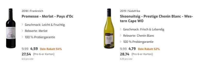 Weinvorteil Rabatt Frühlingsweine 2