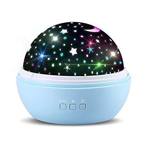 TOFOCO - rotierendes Kinder-Nachtlicht mit Sternen & Tieren für 10,19€ inkl. VSK (Prime)