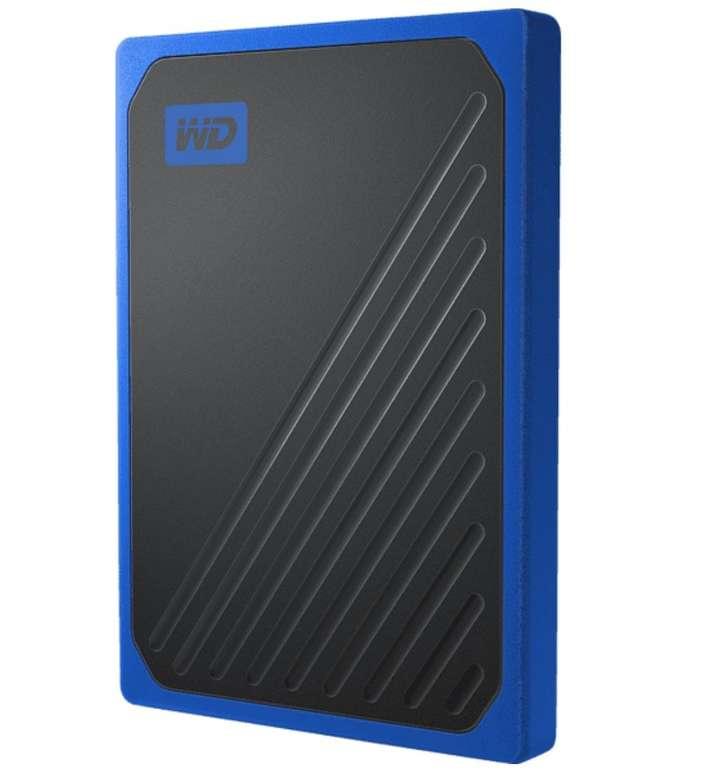 Western Digital Tragbare SSD 500GB für 43,35€ inkl. Versand (statt 64€)