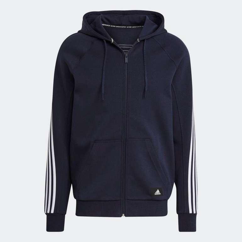 Adidas Sportswear 3-Streifen Kapuzenjacke für 38,67€ inkl. Versand (statt 46€)