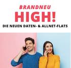 Sparhandy Allnet Flats (HIGH!) im Telekom Netz, z.B. Allnet mit 8GB LTE für 25€