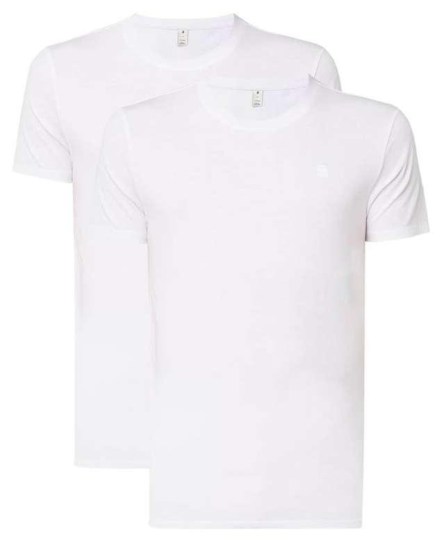G-Star T-Shirt Base HTR 2er-Pack für 20,19€ inkl. Versand (statt 32€)