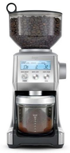 Sage Appliances SCG820 Kaffeemühle (165 Watt, Edelstahl-Kegelmahlwerk) je 149€