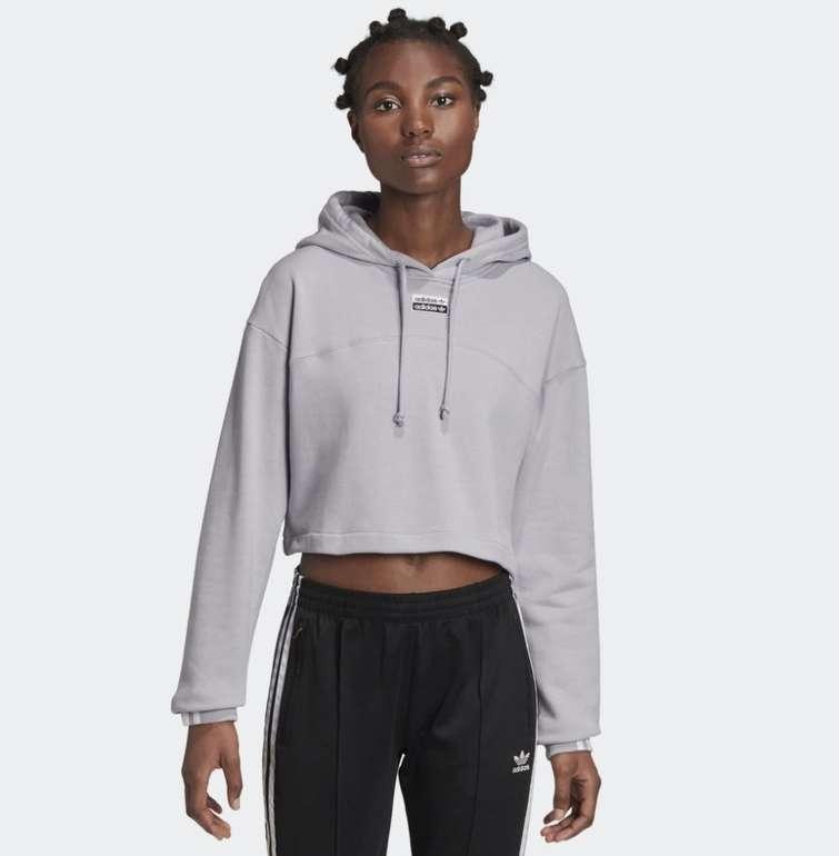 """Adidas R.Y.V. Cropped Damen Hoodie im """"Linen""""-Design für 27,48€ inkl. Versand (statt 33€)"""