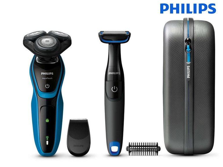 Philips AquaTouch S5050/64 Rasierer mit Bodygroomer & Trimmer für 69,95€