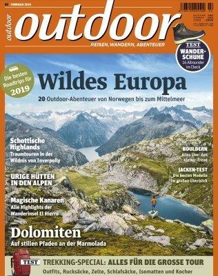 Outdoor Magazin Jahresabo für 65,80€ + 50€ BestChoice Gutschein