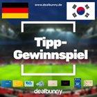 Tipp-Gewinnspiel: Deutschland vs. Südkorea tippen und 50€ Gutschein gewinnen