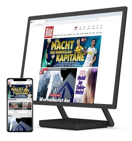 BILDplus Digital Abo - 1 Jahr lang 3,99€ monatlich (danach 7,99€ im Monat)