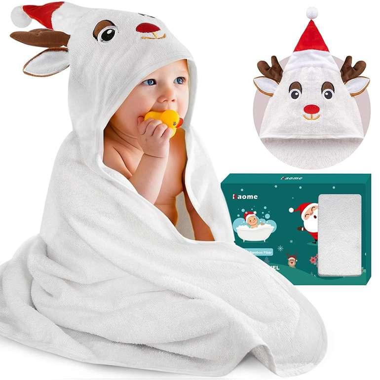 Kaome Baby Kapuzenhandtuch für 12,99€ inkl. Prime Versand (statt 24€)