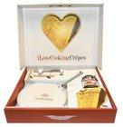 """""""I love cooking Crepes""""-Set (Pfanne, Wender, Kochbuch & Nutella) für 14,63€"""