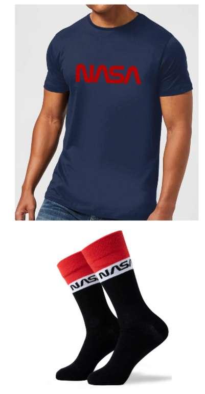 NASA Bundle: T-Shirt + Socken für 10,99€inkl. Versand (statt 15€)