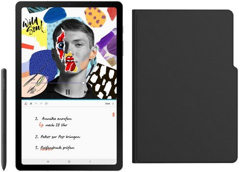 Samsung Galaxy Tab S6 Lite Wifi Tablet (10,4″, 64 GB) für 229€ inkl. Anymode Book Cover (statt 285€)