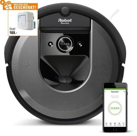 iRobot Roomba I7158 Saugroboter + iRobot Braava Jet 240 Wischroboter für 903,99€
