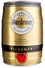 5 Liter Warsteiner Pils Fass für 5,99€ (Amazon Plus Produkt)