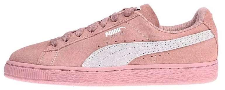 """Puma Suede Classic Damen Sneaker im """"Peach""""-Colourway für 28,85€ inkl. Versand (statt 51€)"""