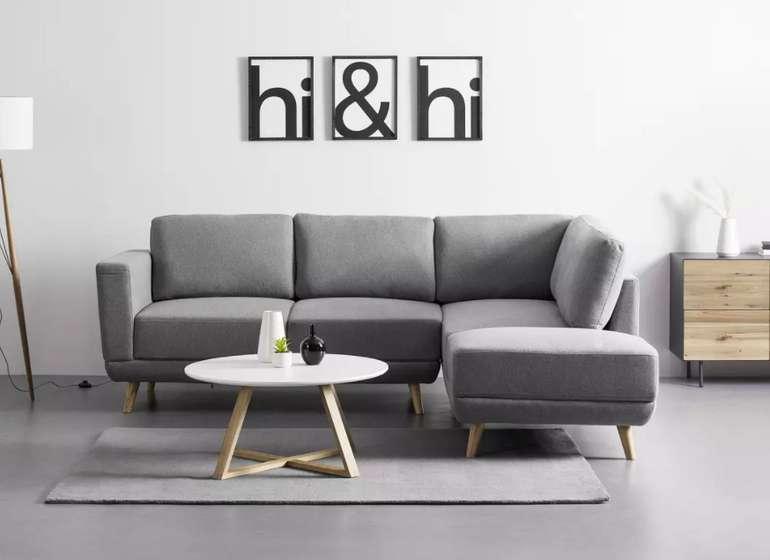 """Bessagi Home Wohnlandschaft """"Kyle"""" in Grau für 629,30€ inkl. Versand (statt 899€)"""