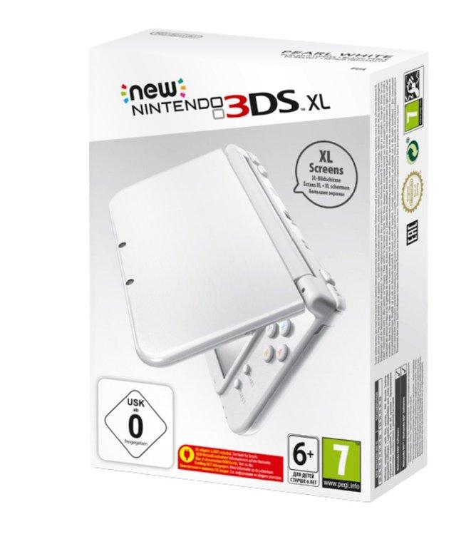 New Nintendo 3DS XL (weiß) für 149€ inkl. Versand (statt 189€)