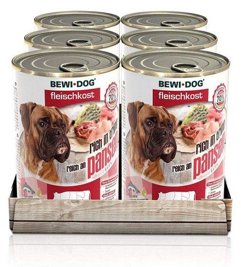 Fehler? 6 Dosen BEWI DOG Fleischkost Nassfutter für Hunde für 1,89€ inkl. VSK - Prime!