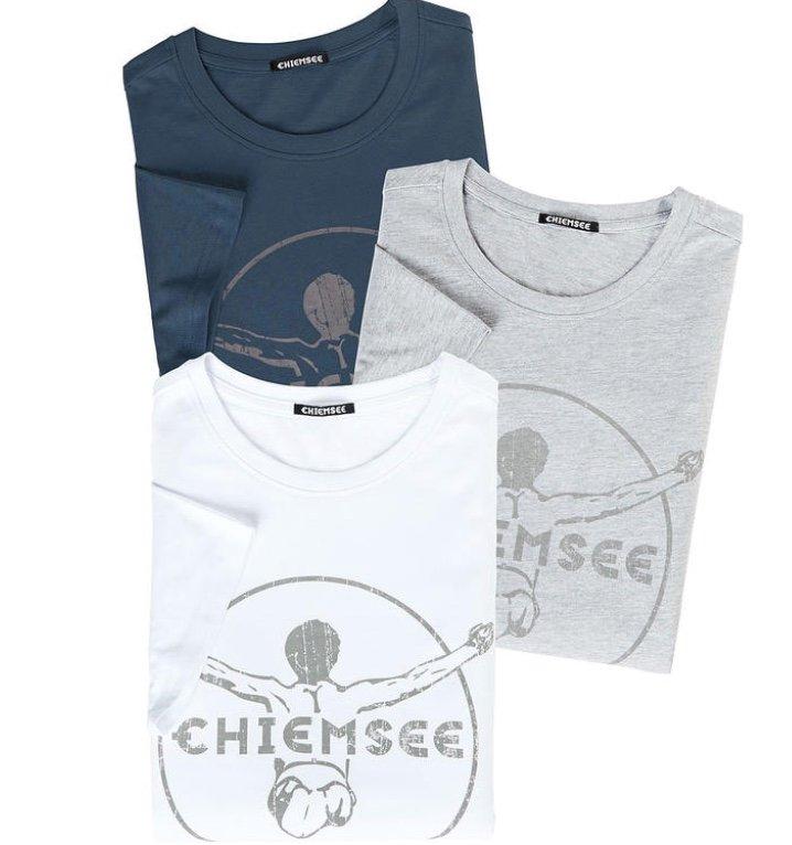 3er Pack Chiemsee Herren Sport T-Shirts + 10er Pack FFP2 Masken für 39,99€ inkl. Versand (statt 60€)