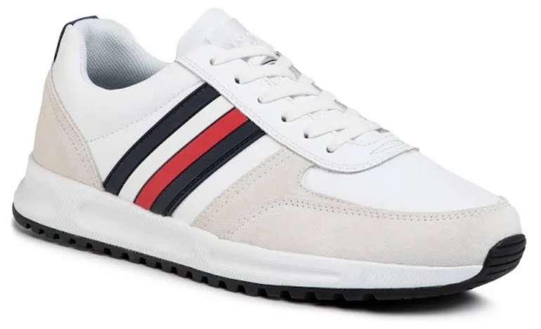 Tommy Hilfiger Sneaker in dunkelblau / rot / weiß für 59,79€ inkl. Versand (statt 83€)