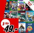 Media Markt: 3 Spiele für 49€ - Xbox, Playstation, PC und Switch