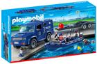Playmobil Bundespolizei - Truck mit Schnellboot (9396) für 23,94€ inkl. Versand