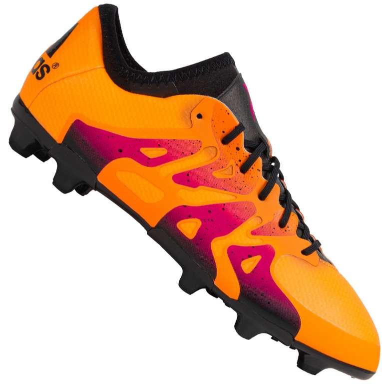 adidas X 15.1 FG/AG Kinder Profi Fußballschuhe in Orange/Pink für 22,94€inkl. Versand (statt 30€)