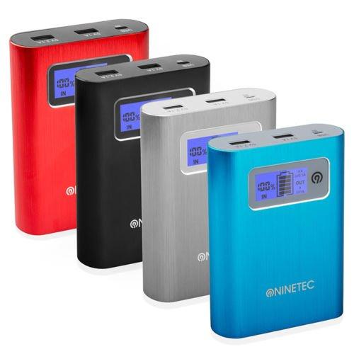 NINETEC PowerDrive 2in1 - 32GB Speicher + 13.400mAh PowerBank zu 29,99€