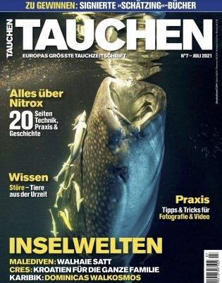 """Jahresabo """"Tauchen"""" (12 Ausgaben) für 9,99€ (statt 96€)"""