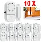 10x Alarmanlage für Fenster und Türen zu 7,16€ inkl. Versand