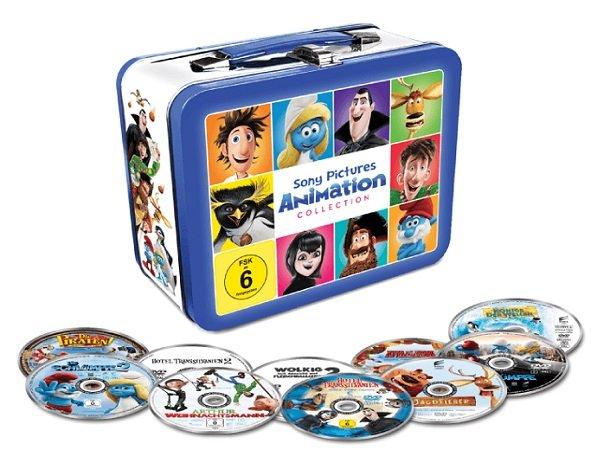 Lunchbox mit 10 Filmhits im limitiertem Koffer für 19€ inkl. VSK (statt 44€)