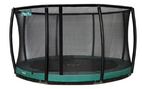 Premium Inground Cage Combi-Bodentrampolin-Deluxe für 809,51€ (statt 997€)