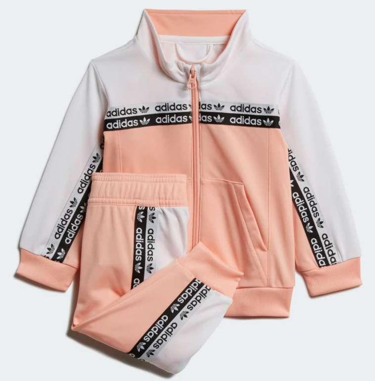 "adidas Baby Trainingsanzug in ""Glow-Pink"" für 22,92€inkl. Versand (statt 45€) - Creators Club"