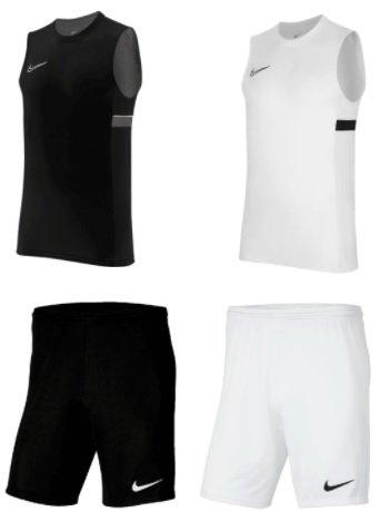 Nike Set (4 teilig) Nike Tank Top Academy 21 + Nike Short Park III für 37,95€ inkl. Versand (statt 50€)
