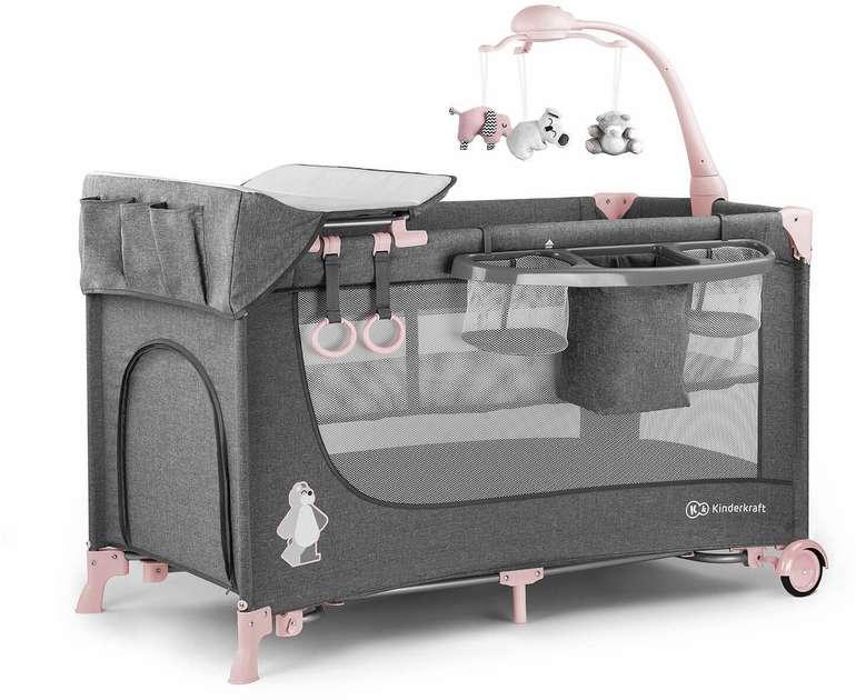 Kinderkraft Reisebett Joy mit Zubehör für 72,72€ inkl. Versand (statt 87€)