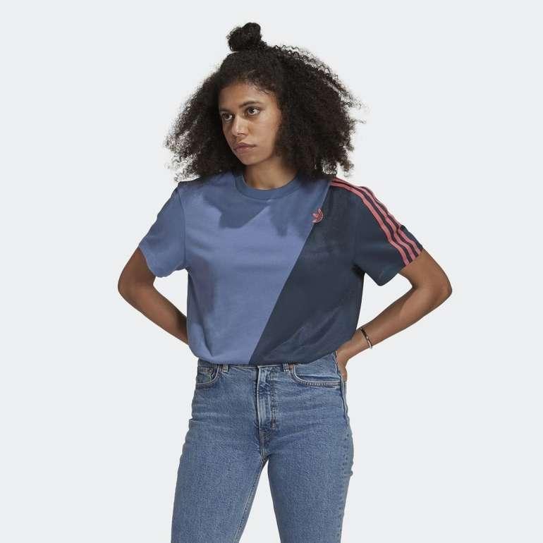 Adidas Adicolor Sliced Trefoil Loose T-Shirt in 4 Farben für je 24,50€ (statt 35€) - Creators Club