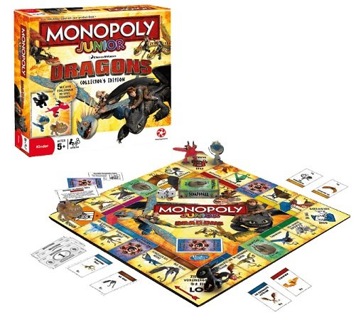 Monopoly Junior - Dragons Collector's Edition für 14,99€ inkl. VSK (statt 30€)