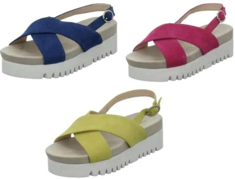 Gerry Weber Ancona Sandaletten aus Leder (versch. Farben) für 44€ inkl. Versand (statt 63€)
