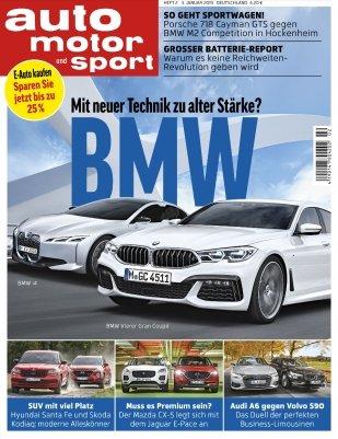 """Jahresabo """"Auto Motor Sport"""" für 118,30€ + 100€ Bestchoice Gutschein"""