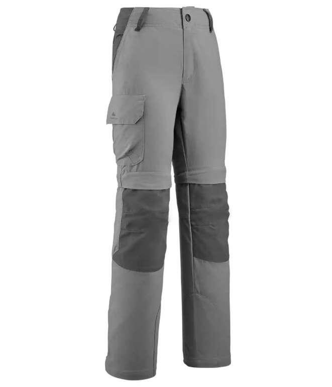 Quechua Jungen Zip-Off-Wanderhose MH500 in grau für 18,98€ inkl. Versand (statt 25€)