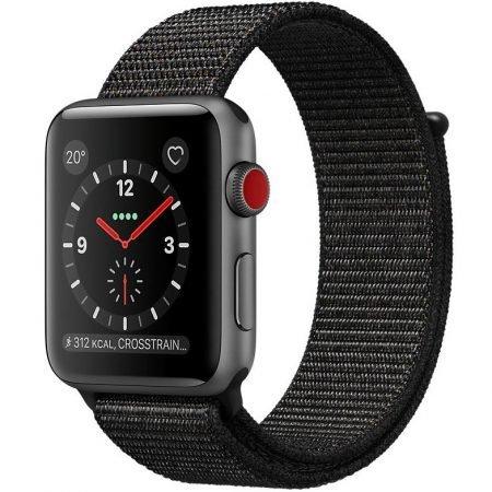 Apple Watch Series 3 (GPS + Cellular) 38 mm mit Sport Loop für 288,40€ inkl. VSK