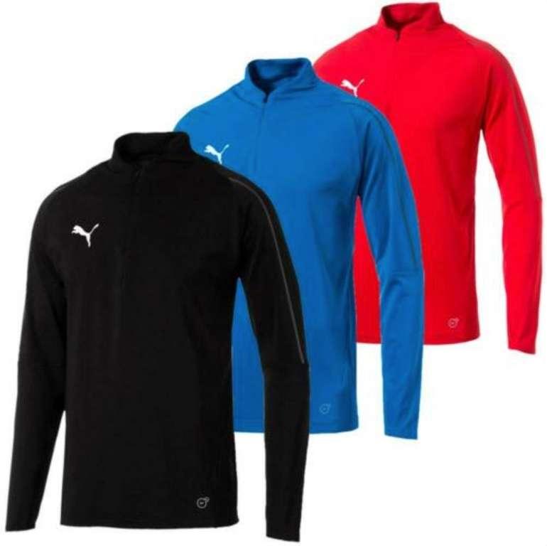 Puma Final Training 1/4 Zip Herren Trainingsshirt (versch. Farben) für je 19,99€ inkl. Versand (statt 25€)