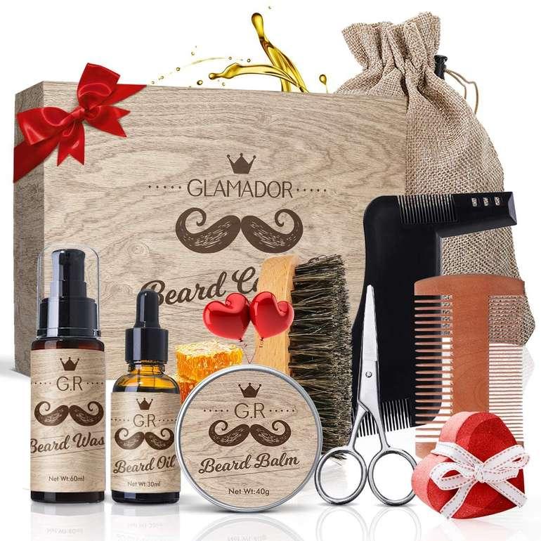 Glamador 9-in-1 Bartpflege Set für 13,89€ inkl. Prime Versand (statt 20€)