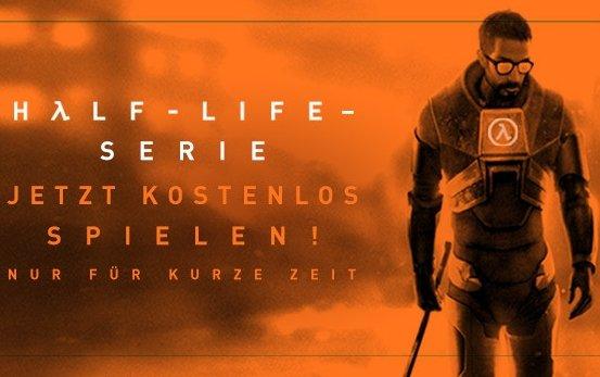 Half-Life Serie bis März kostenlos spielen (Steam)