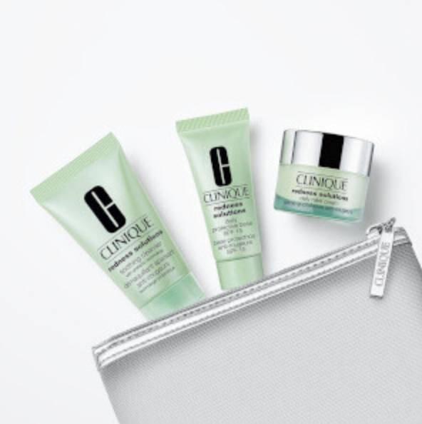 Clinique Beauty Sale mit bis zu 65% Rabatt - z.B. Anti Rötung Set für 11,90€