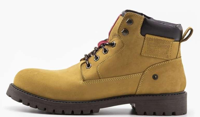 Herren Boots gelb