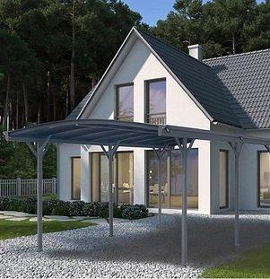 Home Deluxe Falo Carport B 300 x H 224/237 x T 505 cm für 699,95€ (statt 849€)