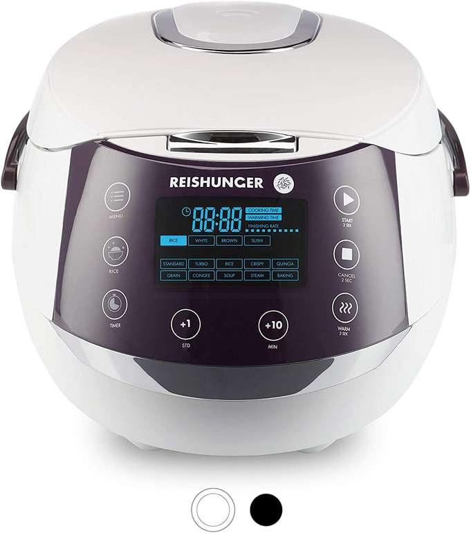 Reishunger Digitaler Premium Reiskocher 1,5 Liter +  je 200g Bio Basmati Reis u. Jasmin Reis für 99,99€